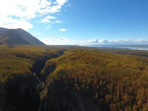 South View of Knik Arm During Fall