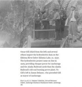 Eklutna Dam James Delaney Description