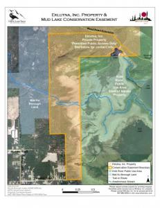 Mud Lake Conservation Map