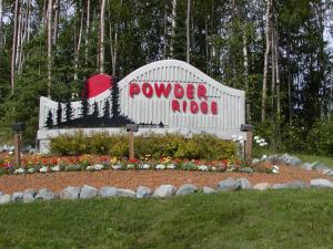 Powder Ridge Sign