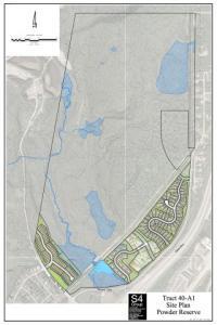 Powder Reserve Site Plan