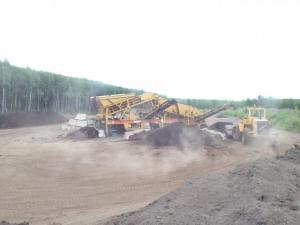 Site 4 Top Soil Processing