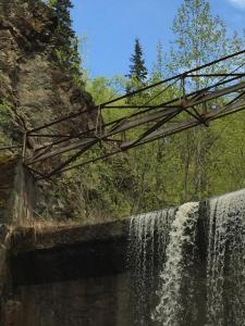 Dam Platform Prior to Demolition