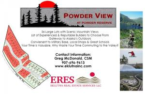 Powder View Sign
