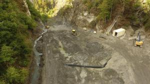 Diversion Dam Piping and Construction Work